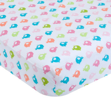 Garanimals Print Crib Sheet