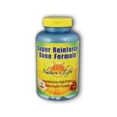 Super Reinforce Bone Formula Nature's Life 120 Tabs