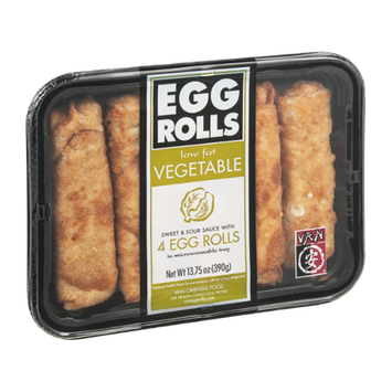 Van Egg Rolls Vegetable - 4 CT