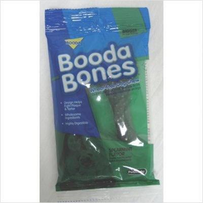 Bigger Booda Bones Bigger-Spearmint 2 pack 3 1/4