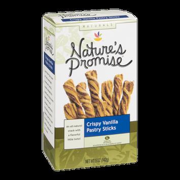 Nature's Promise Pastry Sticks Crispy Vanilla
