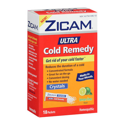 MISC BRANDS Zicam Lemon Lime Ultra Cold Remedy Crystals