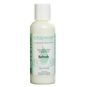 Dropwise Essentials Organic Dry Skin Hand & Body Lotion - Soothe Aromatherapy Blend