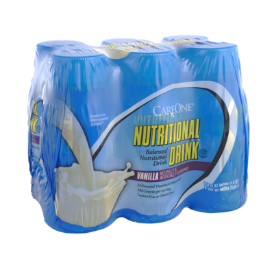 CareOne Vanilla Nutritional Drink - 6 PK