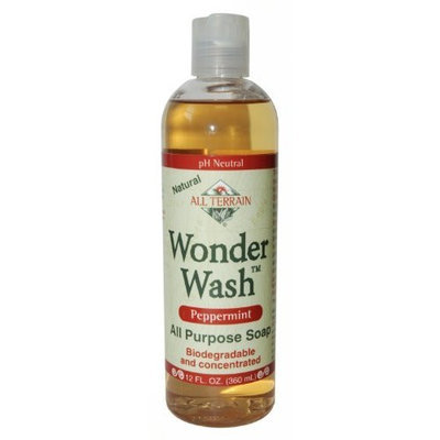All Terrain Company ALL TERRAIN, Wonder Wash Peppermint - 4 fl oz
