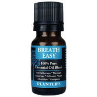 Plantlife Breathe Easy - 100% Pure Essential Oil Blend
