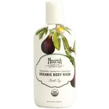 Nourish Organic Body Wash Fresh Fig 10 fl oz