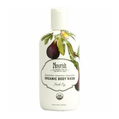 Nourish Organic Body Wash Fresh Fig 10 fl oz