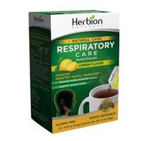 Herbion Naturals Respiratory Care Herbal Granules Sachets, Lemon Flavor - 10 ea, 1.9 oz