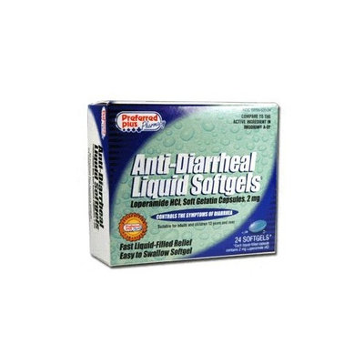 Preferred Plus Pharmacy Anti-Diarrheal Liquid Softgels - 24 Ea