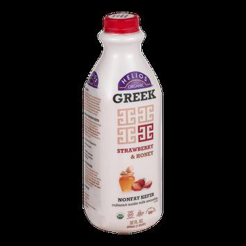 Helios Organic Greek Nonfat Kefir Strawberry & Honey