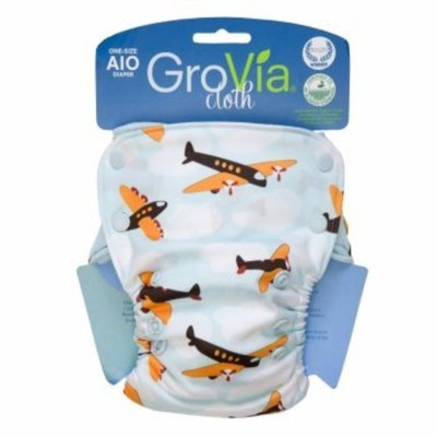 GroVia Organic Cotton All In One (AIO) One-Size Diaper