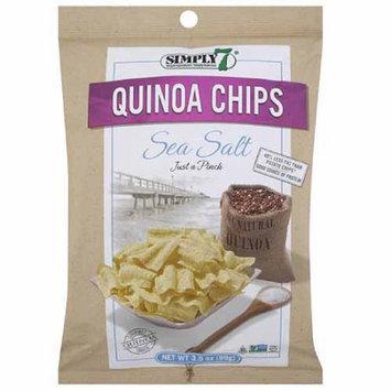 Simply 7 Sea Salt Quinoa Chips, 3.5 oz, (Pack of 12)