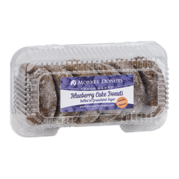 Morkes Blueberry Cake Donuts - 6 CT