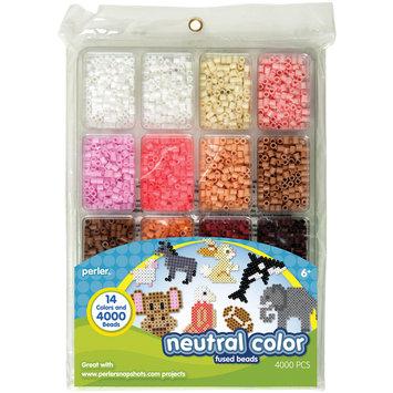 Perler Beads Perler Fun Fusion Beads 4000/Pkg-Neutral Color