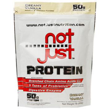 Not Just Protein, Creamy Vanilla, 1 lb