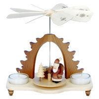Alexander Taron Tabletop Candle Pyramid Indoor Christmas Decoration 33-051