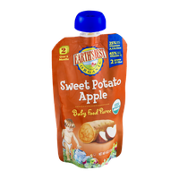 Earth's Best Organic Stage 2 Sweet Potato Apple Baby Food Puree