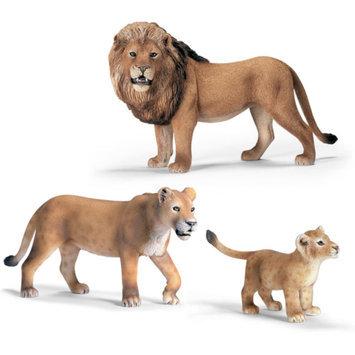 Schleich Lions Toy Animals Play Set