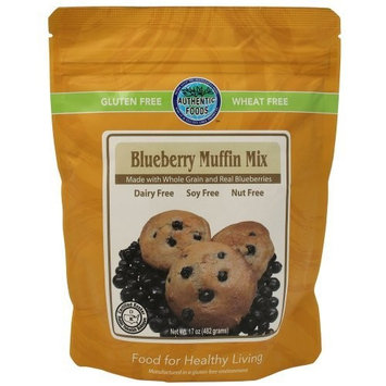Authentic Foods Blueberry Muffin Mix - 17 oz