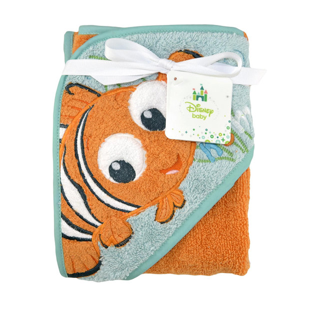 Triboro Quilt Mfg. Corp. Disney Baby Finding Nemo Hooded Towel - TRIBORO QUILT MFG. CORP.