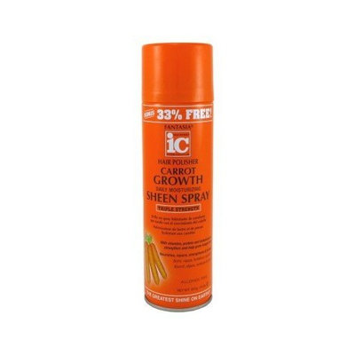 Fantasia Sheen Spray Carrot Growth 14oz Bonus