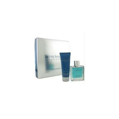 Davidoff Silver Shadow Attitude Coffret: Eau De Toilette Spray 50Ml/1. 7oz + Hair & Body Shampoo75Ml/2. 5oz - 2Pcs