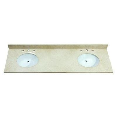 Avanity SUT61GB 61-Inch Galala Beige Marble Stone Top