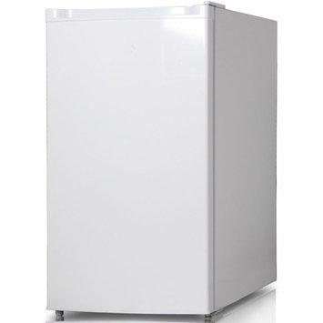 Keystone Energy Star 4.4 Cu. Ft. Compact Single-Door Refrigerator with Freezer Compartment, White, KSTRC44CW