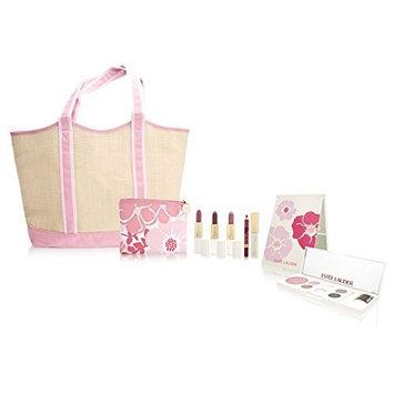 Estée Lauder Spring Poppies Deluxe Beauty Kit 9 Piece Set