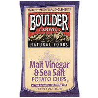 Boulder Canyon Natural Foods Kettle Cooked Malt Vinegar & Sea Salt Potato Chips