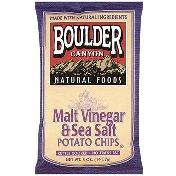 Boulder Canyon Natural Foods Kettle Cooked Malt Vinegar