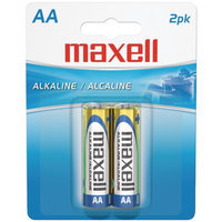 Maxell 723407 - LR62BP AA Alkaline Batteries - 2-Pack