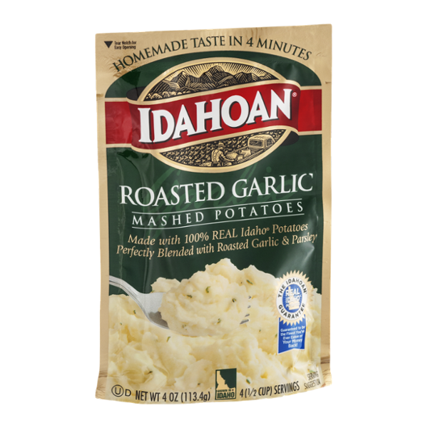 Idahoan Roasted Garlic Mashed Potatoes Reviews on crazy potatoes, microwave pie, microwave cornbread, microwave chicken, microwave boiled potatoes, microwave lasagna, microwave seasoned potatoes, microwave baked potato plastic wrap, microwave scalloped potatoes, microwave red potatoes, microwave potato recipes, microwave hash brown potatoes, microwave sweet potatoes, microwave baby potatoes, yams vs sweet potatoes, microwave peach cobbler, microwave pot roast, microwave baked potatoes, microwave grits, butter gold potatoes,