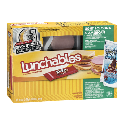 Lunchables Cracker Stackers Light Bologna & American