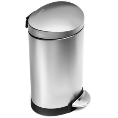 simplehuman Mini Semi-Round Step Can
