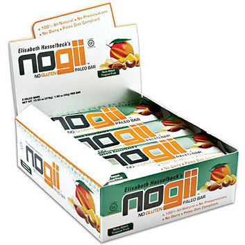 NoGii Nuts About Tropical Fruit Paleo Bars