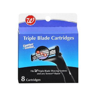 Walgreens Triple Blade Shaving Cartridges