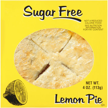 The Bakery of Wal Mart The Bakery at Walmart Sugar Free Lemon Pie, 4 oz