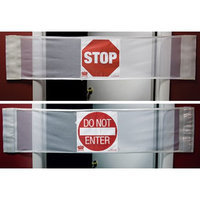 Secure DSB-3-in1 Door Safety Banner With Stop & Do Not Enter