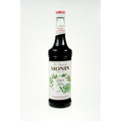 Monin Glass Mint Green Flavor Syrup750 Milliliter