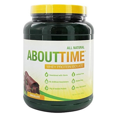 Select Nutrition About Time Whey Protein Isolate, Chocolate, 2 lb
