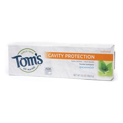 Tom's OF MAINE Spearmint Cavity Protection Natural Toothpaste