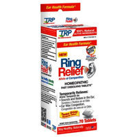 The Relief Products Ring Relief Homeopathic Fast Dissolving Tablets, 70 ea