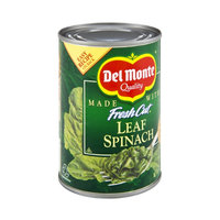 Del Monte Fresh Cut Leaf Spinach