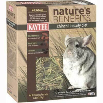 Kaytee Natures Benefits Pet Food Pet Type: Chinchilla, Size: 2.25 Pound