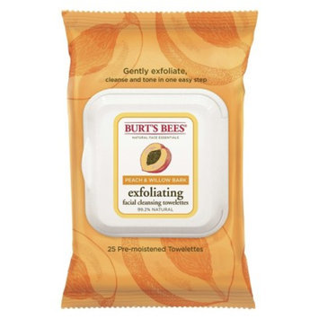 Burt's Bees Burts Bees Peach & Willow Bark Exfoliating Wipes
