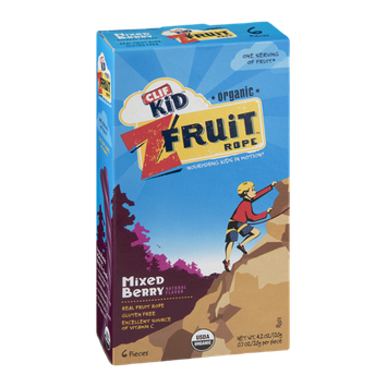 Clif Kid Z Organic Fruit Rope Mixed Berry