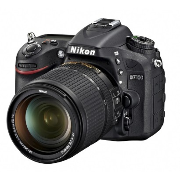 Nikon D7100 24.1MP Digital SLR Camera with 18-140mm and 55-300mm VR