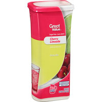 Great Value : Cherry Limeade Drink Mix